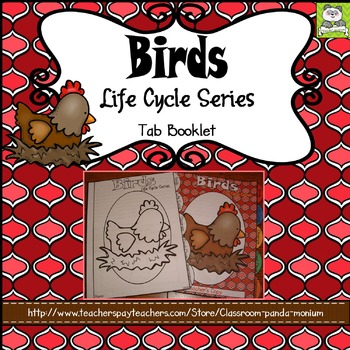 Bird Life Cycle Tab Booklet