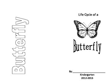 Life Cycle of a Butterfly Brochure