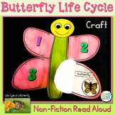 Life Cycle of a Butterfly Craft: A Spring Non-Fiction Read