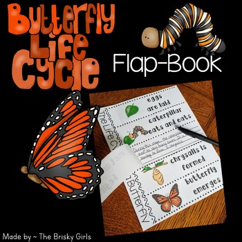 Life Cycle of a Butterfly Flap-Book