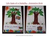 Life Cycle of a Butterfly Interactive Book, Printable in full color!