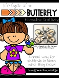 Life Cycle of a Butterfly >>> Interactive Craftivity