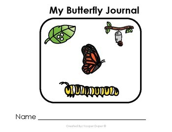 Life Cycle of a Butterfly Journal