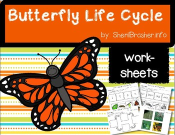 Life Cycle of a Butterfly | PreK-K Worksheets | English