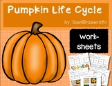 Life Cycle of a Pumpkin | PreK-K Worksheets | English