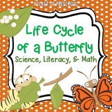 Butterfly Investigation: Science, Math, & Literacy