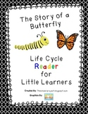 Life Cycle of a Butterfly Reader