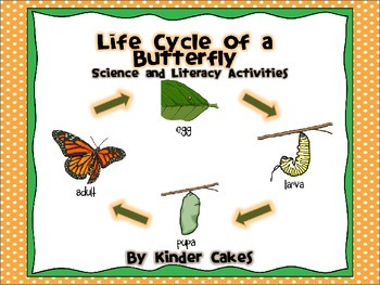 Life Cycle of a Butterfly Science and Literacy Activities