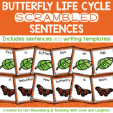Life Cycle of a Butterfly Scrambled Sentences