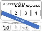 Life Cycle Of A Butterfly Worksheet | Teachers Pay Teachers