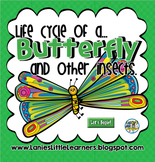 Life Cycle of a Butterfly and Other Insects { SMARTBoard Activities}