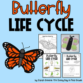 Life Cycle of a Butterfly {posters, printables, craft & writing!}
