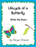 Life Cycle of a Butterfly:Write the Room