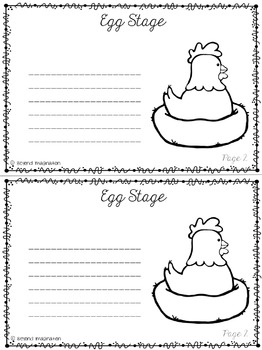 Life Cycle of a Chicken | 64 Pages for Differentiated Learning + Bonus Pages