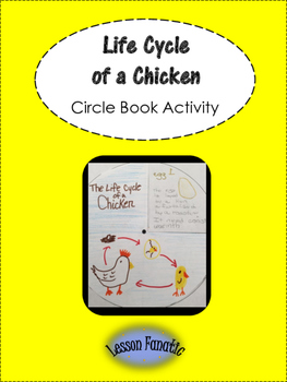 Life Cycle of a Chicken Circle Book