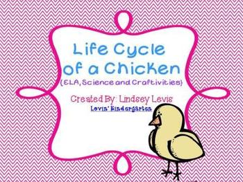 Life Cycle of a Chicken {ELA, Science and Craftivities}