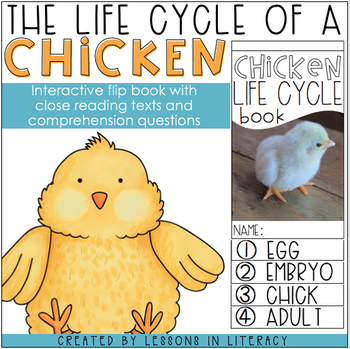 Life Cycle of a Chicken {Flip Book}