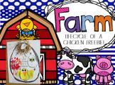 Life Cycle of a Chicken Freebie (Farm Literacy Bundle)