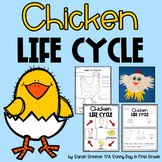 Chicken Life Cycle (posters, printables, craft & writing)