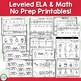 Life Cycle of a Christmas Tree - Christmas No Prep ELA & Math Activities Unit