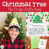 Life Cycle of a Christmas Tree - Christmas No Prep ELA & M