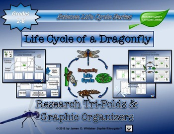 Life Cycle of a Dragonfly Research Tri-Folds and Graphic O