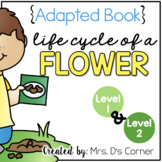 Life Cycle of a Flower Adapted Book [Level 1 and Level 2]