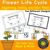 Life Cycle of a Flower: Sequencing, Coding, and Cut & Paste