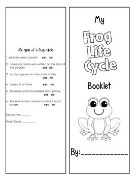 Life Cycle of a Frog Activities and Printables