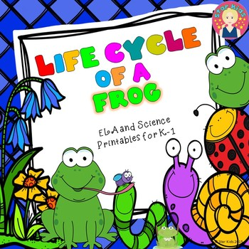 Life Cycle of a Frog {ELA and Science Printables}