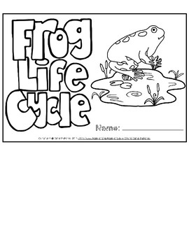 Life Cycle of a Frog Flip Book
