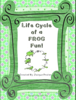 Life Cycle of a Frog Fun