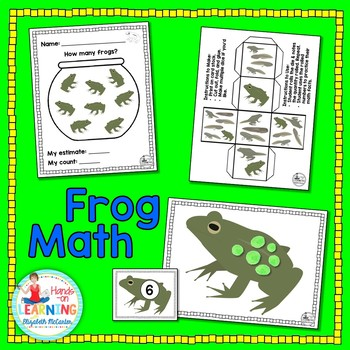 Life Cycle of a Frog Math Pack