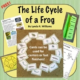 Life Cycle of a Frog Nonfiction Article, Sorting Cards and