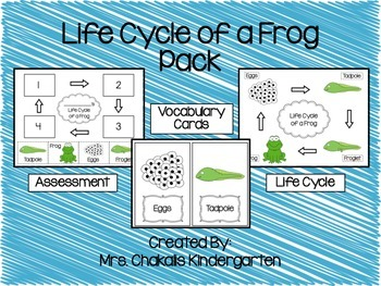 Life Cycle of a Frog Pack