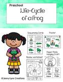 Life-Cycle of a Frog- Preschool