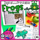 Digital Life Cycle of a Frog Activities   Distance Learning