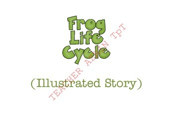Life Cycle of a Frog (an illustrated story for children)