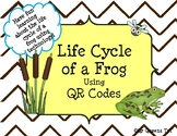 Life Cycle of a Frog and Froggy Fun using QR Codes Listening Center