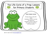 Life Cycle of a Frog for Primary Students