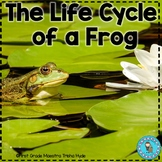 Frog Life Cycle Reading, Writing, and Math