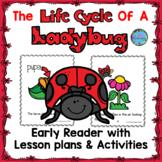 Life Cycle of a Ladybug Emergent Reader ESL Spring Craft Wheel & Printables