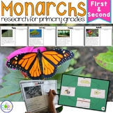 Monarch Butterfly Life Cycle: Integrated ELA and Science Research Pack