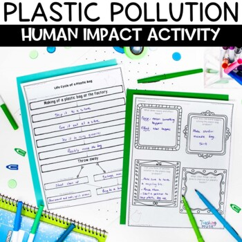 Life Cycle of a Plastic Bag Conservation and Pollution Activity