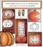 Life Cycle of a Pumpkin Activities: Emergent Reader & Pumpkin Crafts