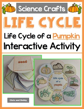 Life Cycle of a Pumpkin Craft - Interactive Crafts - Science Crafts Series