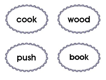 Life Cycle of a Pumpkin Phonics Cards: Vowel Patterns oo, u