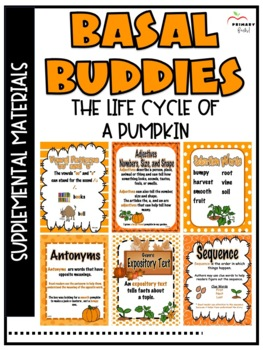 Life Cycle of a Pumpkin -Reading Street (2013) 2nd Grade U