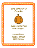 Life Cycle of a Pumpkin, Reading Street Unit 4 Week 2 Resource Pack
