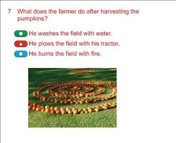 Life Cycle of a Pumpkin Smart Response Quiz